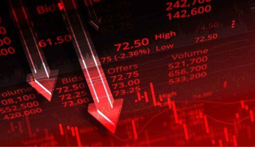 今週の株式市場は日経平均が急落し年初来安値を更新